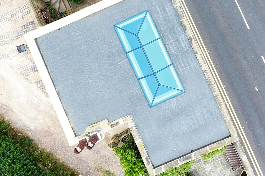 Birds-Eye Roof Lantern
