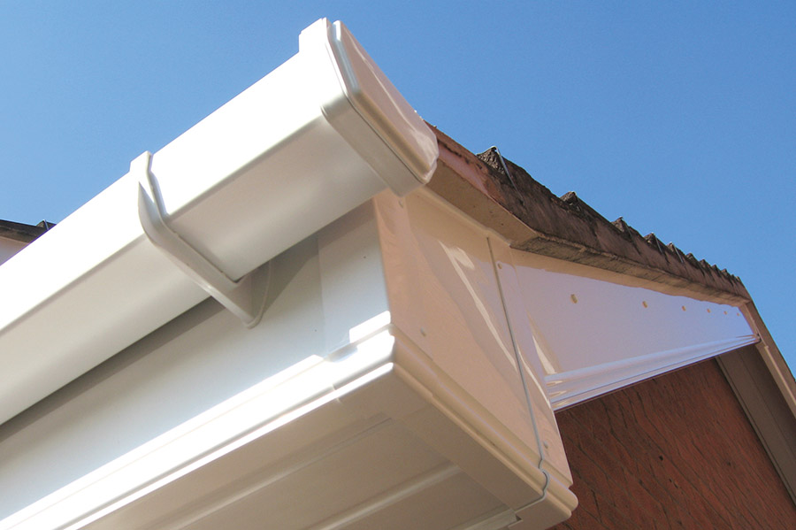 Soffit & Cladding Combination